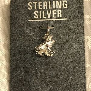 Jewelry - Sterling silver frog prince charm, NWOT